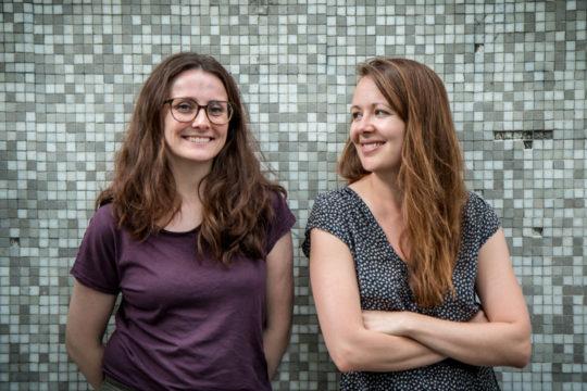 Nouveau portrait – Johanna Goldschmidt et Laure-Elisabeth Bourdaud par Caroline Oustlant