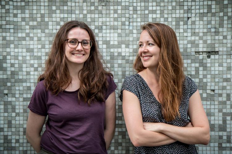 Portrait – Johanna Goldschmidt et Laure-Elisabeth Bourdaud par Caroline Oustlant