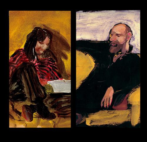 Nouveau portrait – Zyk et Zaza par Sophie Furlaud