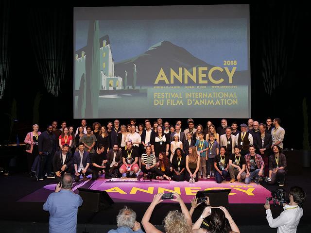 Les femmes primées à Annecy !